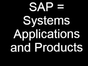 Full Form of SAP/ What is SAP?