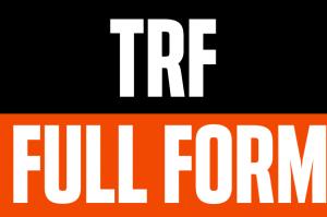 TRF full form